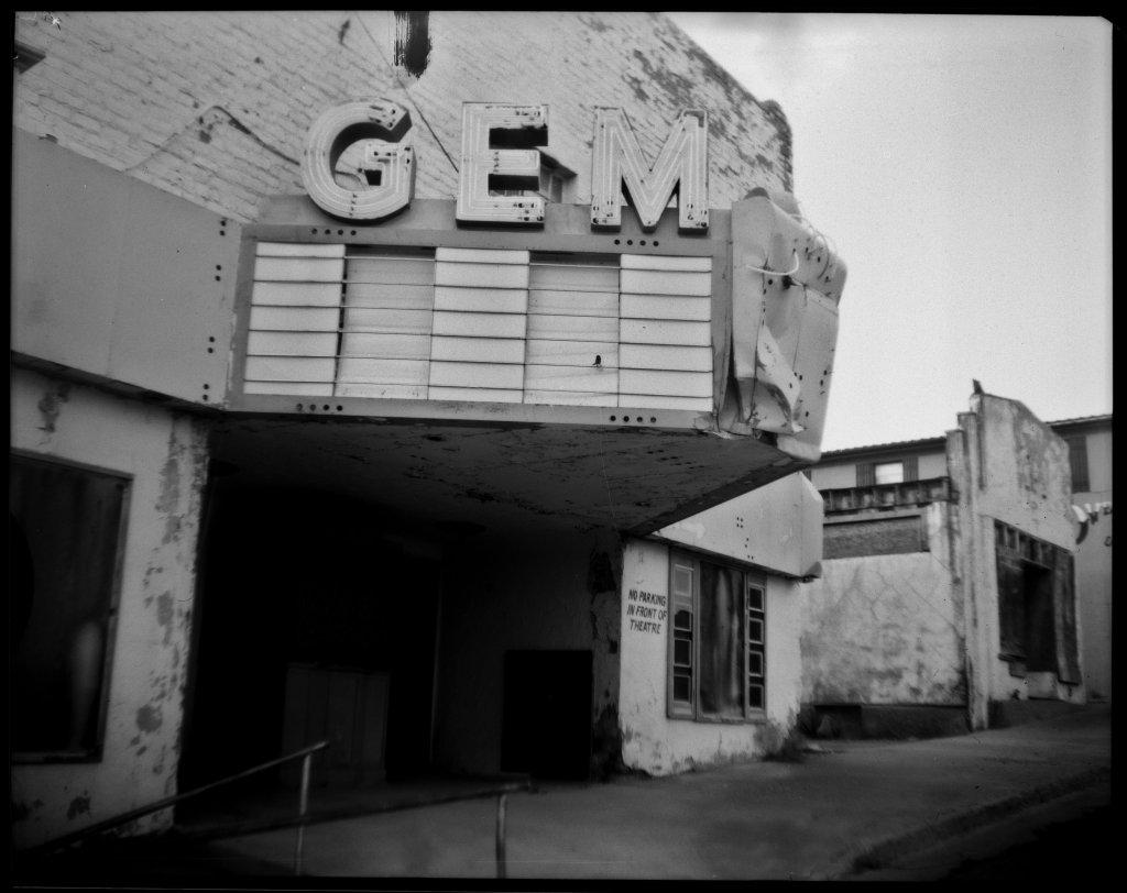 Camera: Graflex Crown Graphic (1954) Lens: Steinheil München Anastigmat Actinar 4.5; 135mm Film: Fuji Super HR-T X-Ray Film; 100ISO Exposure: f/4.5; 1/200sec Process: Rodinal; 1+100; 7min  Pioche, Nevada July 2020